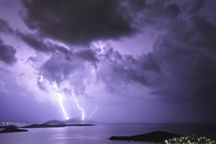 Lightning - Learn About Weather |Cumulus Clouds Lightning