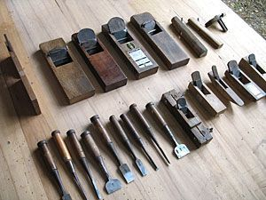 Japanese woodworking tools | Made from wood