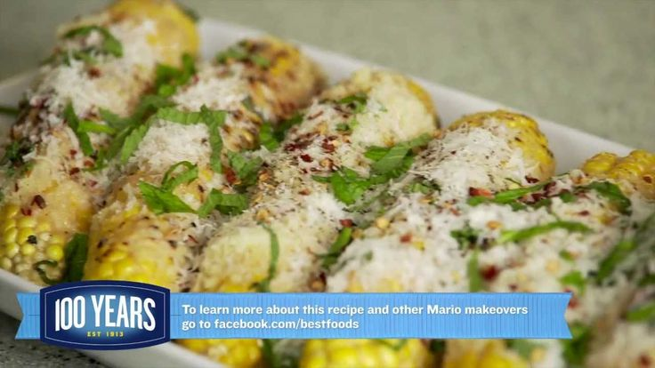HOW-TO: Mario Batali's Grilled Corn Italian Style Recipe - # ...