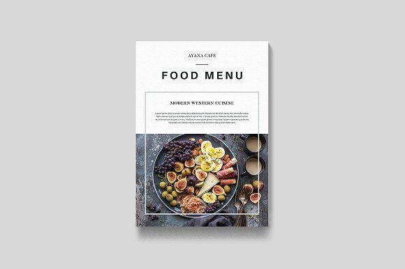 Food Menu by Leaflove on @creativemarket