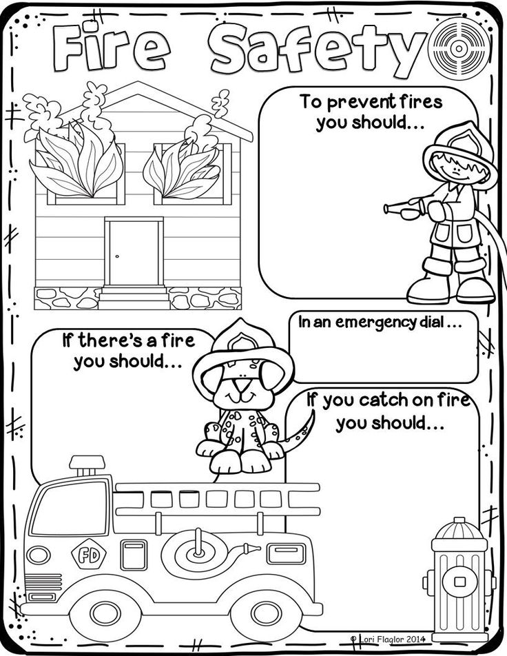 These posters  are perfect for your study of fire safety!