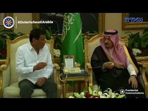 Duterte Middle East state visit, makakatulong sa ekonomiya at peacetalks sa Mindanao — UP prof - WATCH VIDEO HERE -> http://dutertenewstoday.com/duterte-middle-east-state-visit-makakatulong-sa-ekonomiya-at-peacetalks-sa-mindanao-up-prof/   Makakatulong sa pagpapalago ng ekonomiya at proseso ng usapang pangkapayapaan sa Mindanao ang pagbisita ni Pangulong Rodrigo Duterte sa Middle Eastern countries ayon sa isang UP professor. Ito ang balita ni Rosalie Coz. For more videos:
