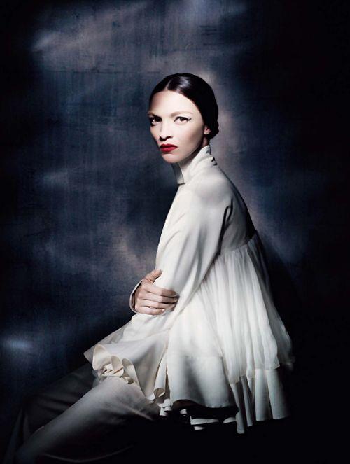 Mariacarla Boscono in 'Couture Allure' by Paolo Roversi - Vogue Italia March 2013.
