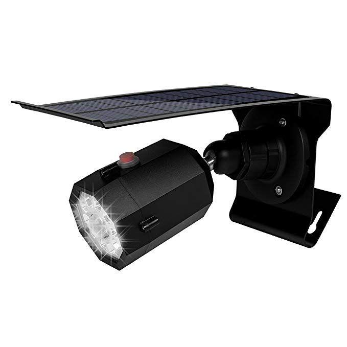 Super Bright Solar Led Motion Sensor Light With Fake Surveillance Camera Outdoor Solar Motion Sensor Lights Outdoor Sensor Lights Outdoor Motion Sensor Lights