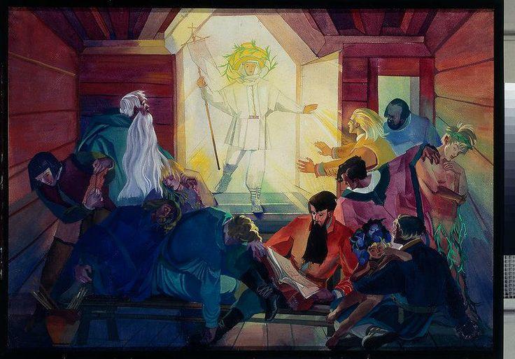 Cykl - Pascha. Jezus i apostołowie. Z.Stryjeńska