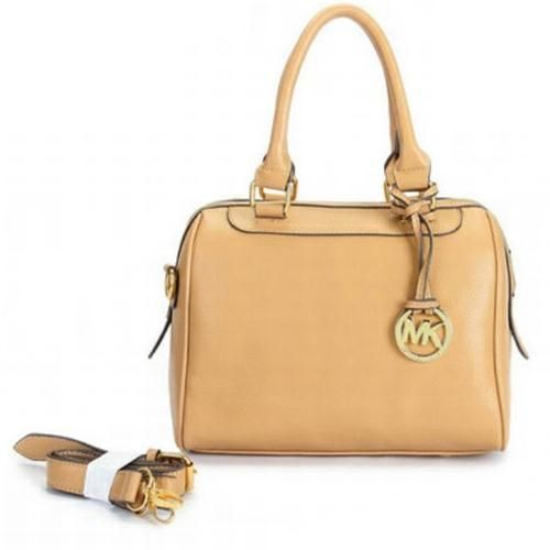 Michael Kors Outlet Hamilton Small Beige Totes