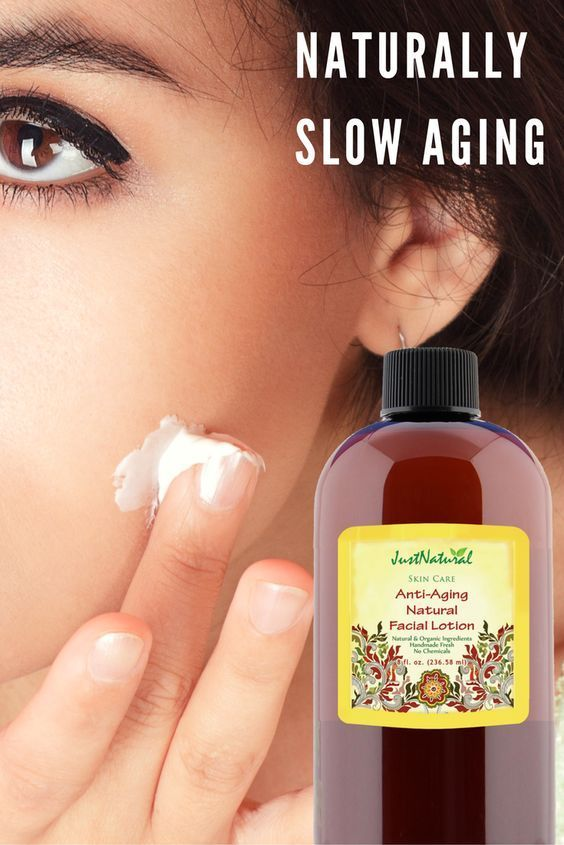 Allow nature to slow down the aging process by using a facial lotion packed with the best ingredients the earth has to offer!