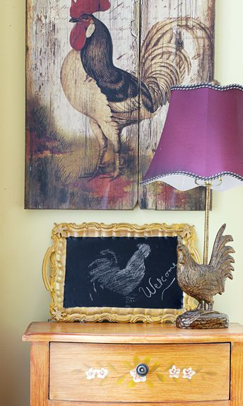 Rooster Decor In Living Room: 12 Best Images About Roosters Decor On Pinterest