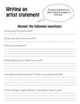 Essay about art critique