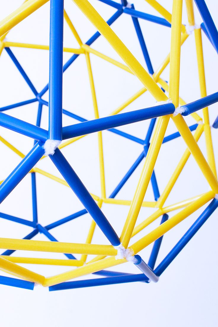 how to make a geodesic dome out of paper