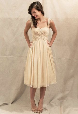 Aline Sweetheart Sleeveless kneelength Chiffon by onlineDress, $75.00.. Great For Bridesmaid Dresses