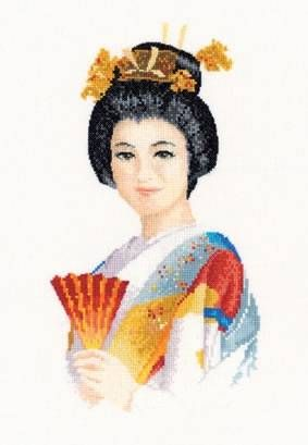 Suko Cross Stitch Kit by Heritage Crafts - £27.25 on Past Impressions