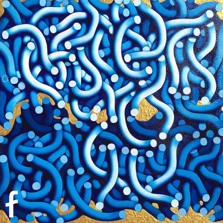 Carlo Petrini opera d'arte - surrealismo contemporaneo - fluidofiume trieste