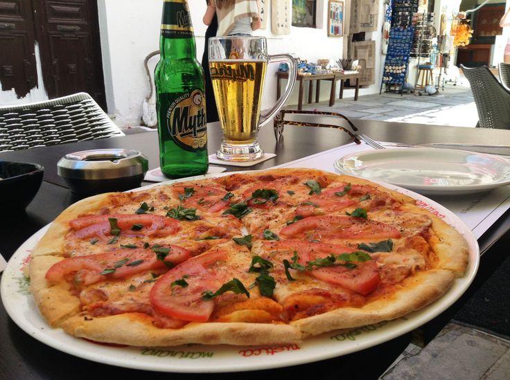 Margherita at Ciao Bistro, Kos, Greece