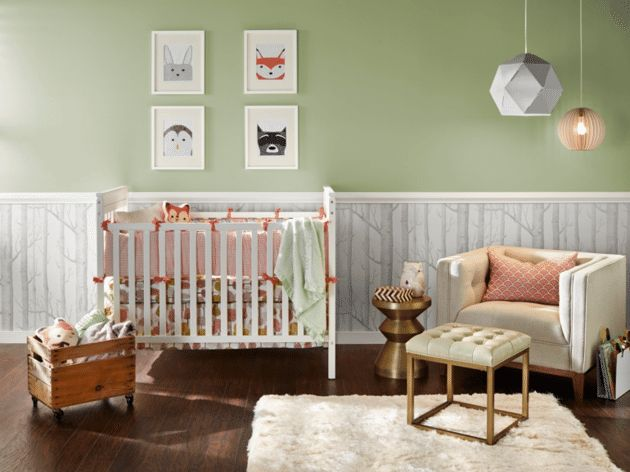 9 Modern Yet Soothing Colors For A Nursery