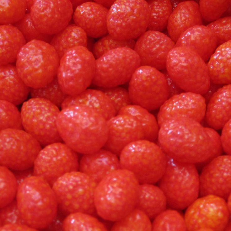Les Fraisettes, fraises des bois, offertes après avoir ingurgité l'huile de foie de morue...