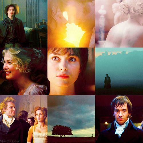 Pride and Prejudice (2005) - starring Keira Knightley as Elizabeth Bennet & Matthew MacFayden as Mr. Darcy