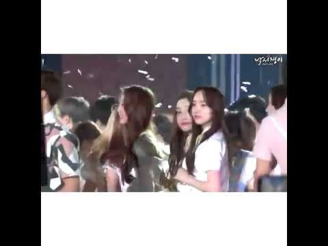 [150523] Yein (Lovelyz) and Jungkook (BTS) moments
