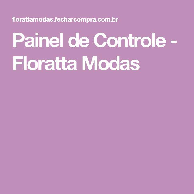 Painel de Controle - Floratta Modas