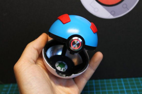 It is dangerous to go alone, thats why you should take one of these!  This is the nearest you can get to owning your very own real pokeball!  The