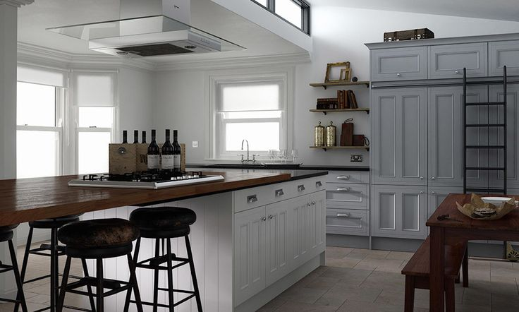 Country Kitchen in Sea Foam and Parchment Matt image 1