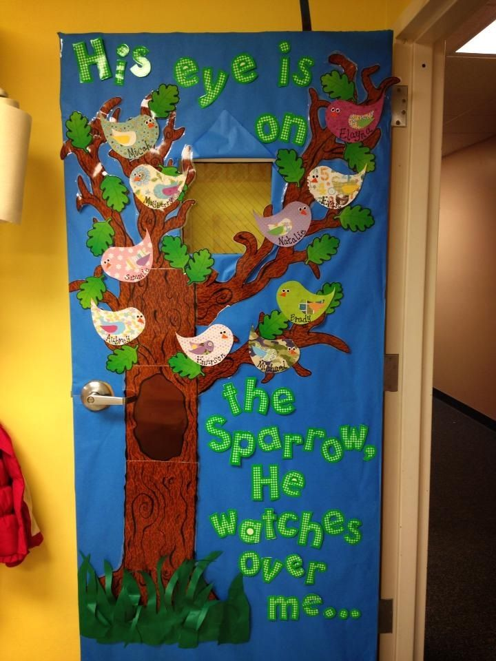 133 best spring easter bulletin boards images on pinterest for Nursery class door decoration