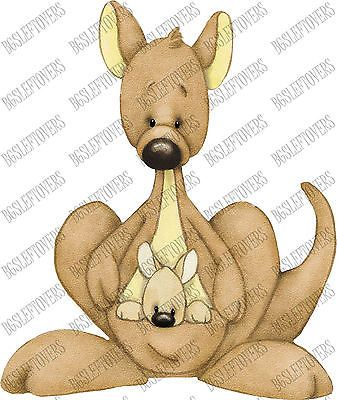 S~ AUSTRALIA ~ KANGAROO ~ Scrapbook Embellishment SC241