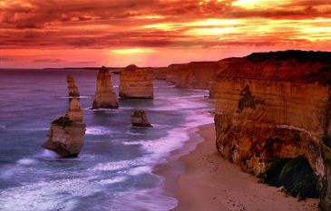 One of the most awesome places I've ever been to. 12 Apostles, Great Ocean Road, Australia