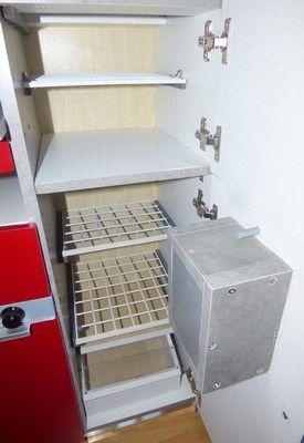 Mini frigo ouvert