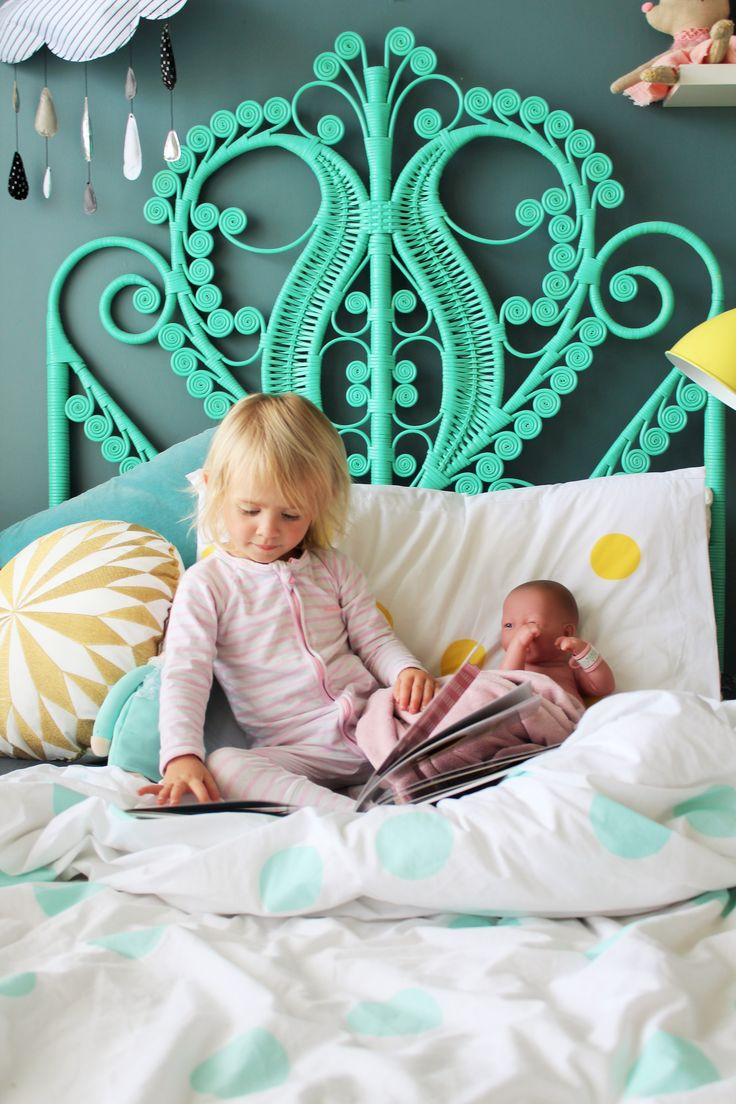 Little Louli Linen - styled by www.fourcheekymonkeys.com  #kidsinterior #kids #kidsroom #interior