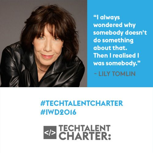 Yes We Can! - The Tech Talent Charter and International Womens...