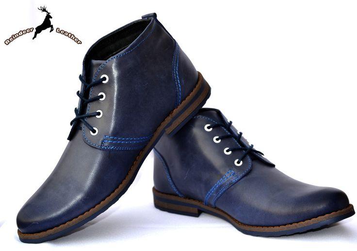 Reindeer Leather Chukka Boot Ankle Length