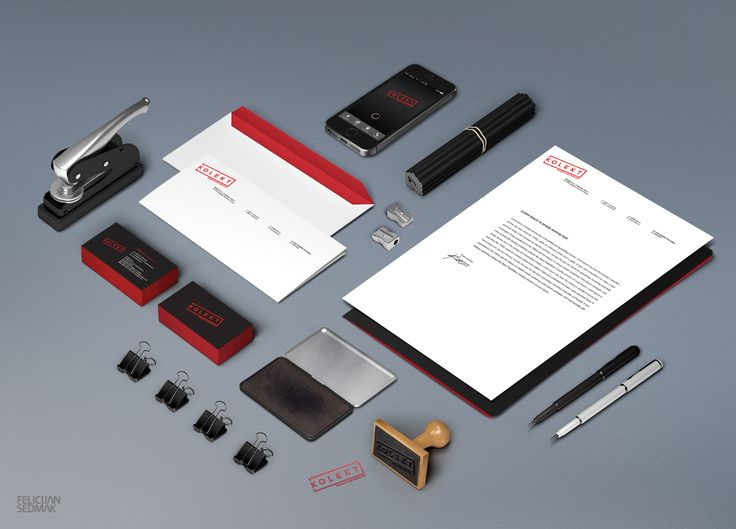 Corporate identity for production services Kolekt