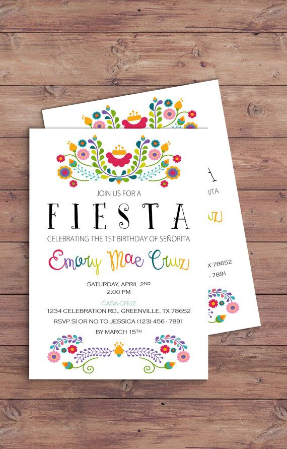 Hey, I found this really awesome Etsy listing at https://www.etsy.com/listing/465001675/fiesta-themed-birthday-party-invitation