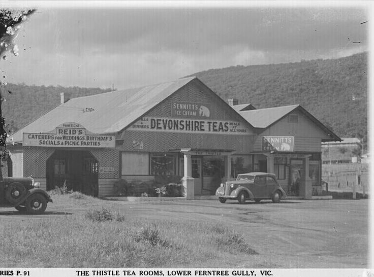The Thistle Tea Rooms,Lower Ferntree Gully