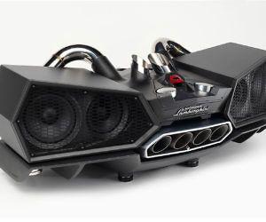 Lamborghini Exhaust Docking Speaker