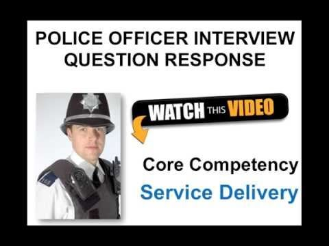 This video teaches you how to answer the police officer recruitment process interview for service delivery based on the new interview format. Get MORE QUESTIONS and answers to help you become a police officer at: https://www.how2become.com/careers/po...