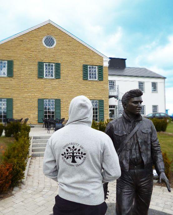 The #FamousSDUhoodie in #Odense, #Denmark, #University of Southern #Denmark https://www.facebook.com/unisouthdenmark
