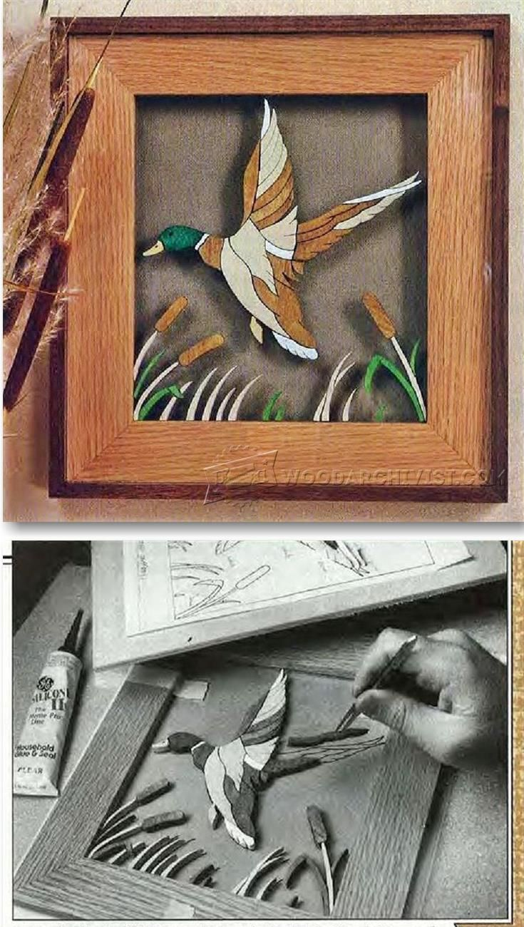 Duck Under Glass - Woodworking Plans and Projects   WoodArchivist.com