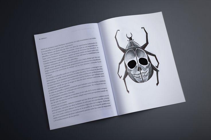 """""""Cuentos Edgar A. Poe"""" Serie de ilustraciones aplicadas a un libro de cuentos escritos por Edgar A. Poe."""