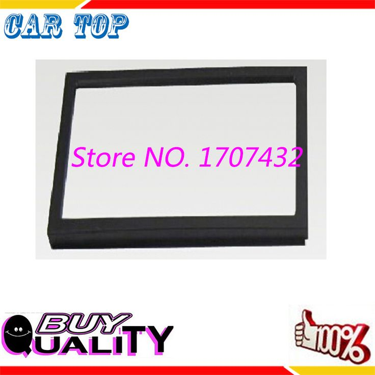 High quality new Double Din Fascia For Chevrolets Onix Cobalt LHD Radio DVD Stereo Panel Dash Mount Install Trim Kit Refit Frame
