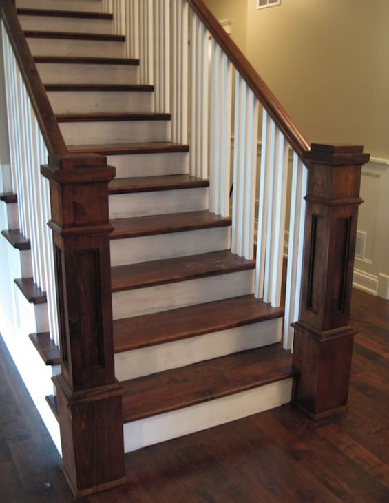 if you must have stairs in your house provide bilateral hand railing and visual contrast between the treads and risers please see my post for more aging