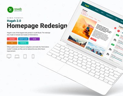 """Check out new work on my @Behance portfolio: """"Hagah 2.0 Homepage redesign"""" http://be.net/gallery/43636985/Hagah-20-Homepage-redesign"""