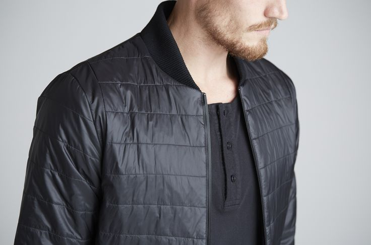 detail of the EVOLUTION PUFFER by Outerknown. Made with ECONYL® regenerated nylon yarn coming from reclaimed waste. Discover more on this unique material on www.econyl.com Available for purchase online at www.outerknown.com #menswear #Outerknown #surf #Sustainability #sustainablefashion