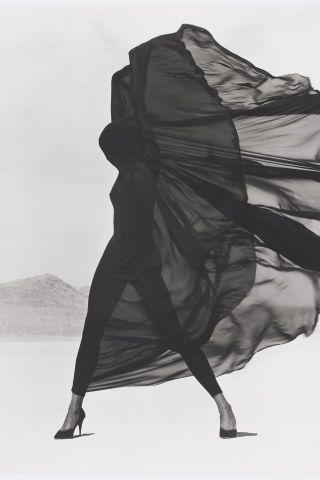 Take a look at 10 outstanding photos by Herb Ritts, and don't forget to catch his work at The Museum of Fine Arts, Boston: Versace Veiled Dress