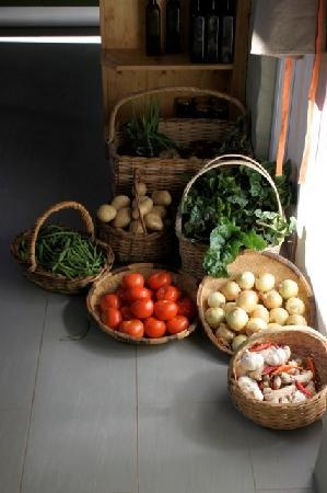 Fresh produce from the Saturday morning market and our vegetable garden at African Relish
