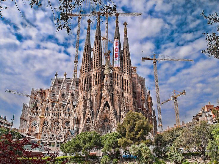 Gaudi cathedral barcelona spain been there done that for Kathedrale barcelona gaudi