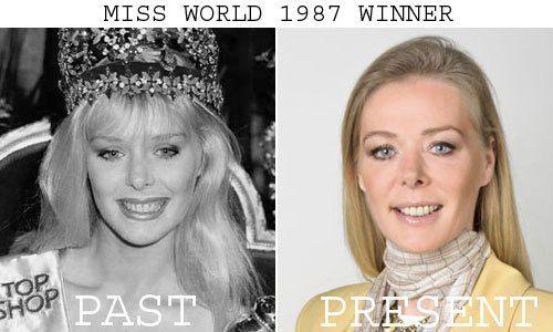 Ulla Weigerstorfer won Miss World 1987