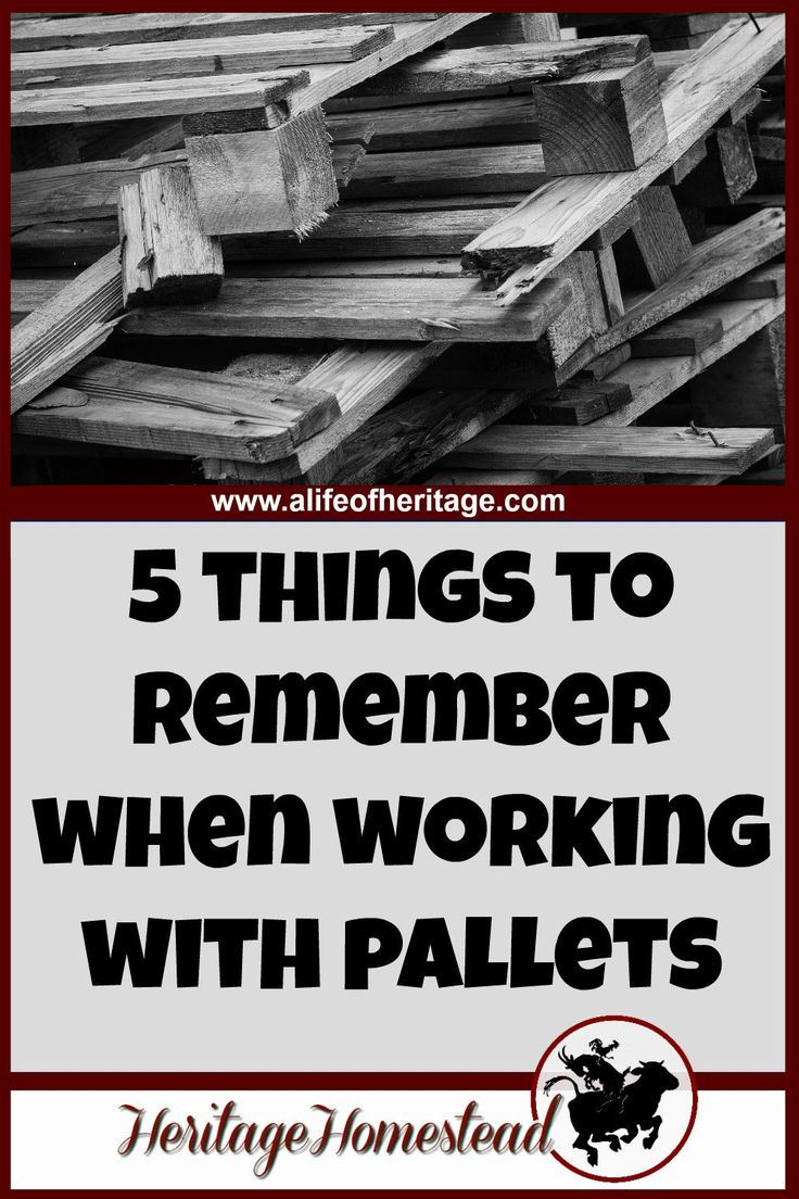 What You Need to Know When Working with Pallets | Recycled ...