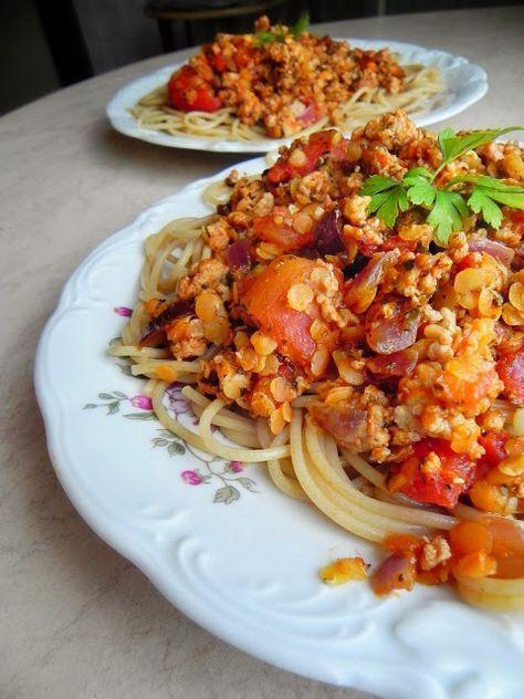 Enjoy Your Meal!: 217. Moja uzdrowiona wersja spaghetti bolognese na 100 tys. wyświetleń!